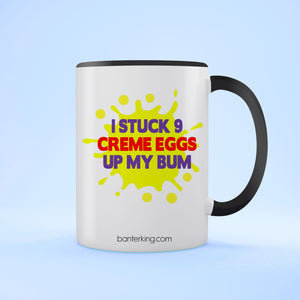 CREME EGG TWO TONED MUG Mug BanterKing Black 1 MUG