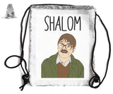 SHALOM SEQUIN SPORTS BAG Sequin Bags BanterKing Silver 1 BAG