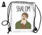 SHALOM SEQUIN SPORTS BAG Sequin Bags BanterKing Black 1 BAG