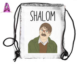 SHALOM SEQUIN SPORTS BAG Sequin Bags BanterKing Pink 1 BAG
