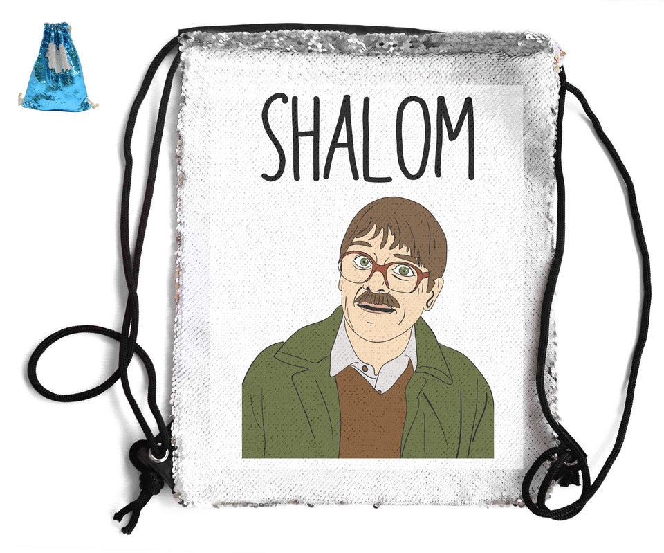 SHALOM SEQUIN SPORTS BAG Sequin Bags BanterKing