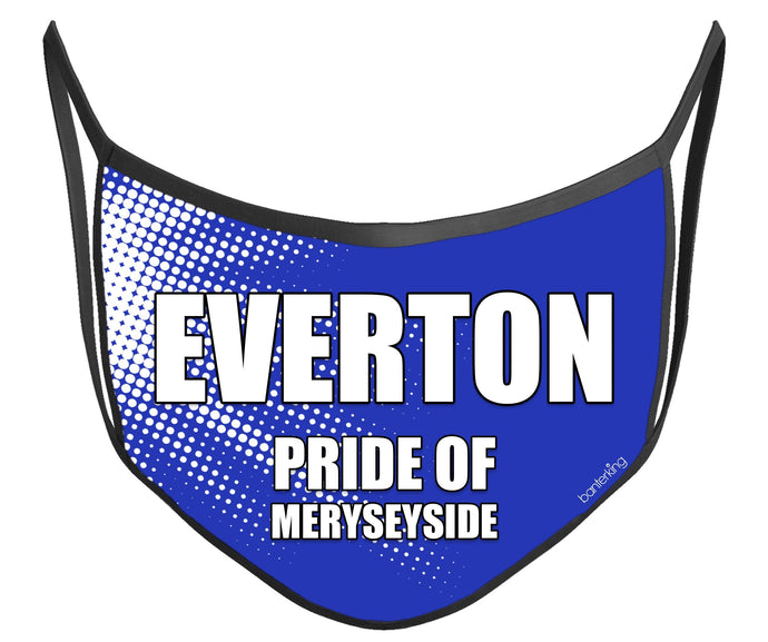 Everton Face Mask (High Quality And Washable!) Face Mask BanterKing