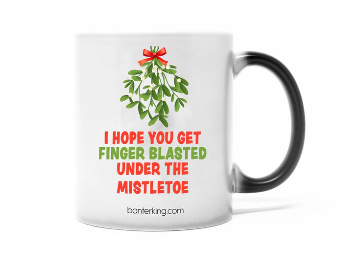 Finger Blasted, Heat Changing Mug Mug WeBrandIt