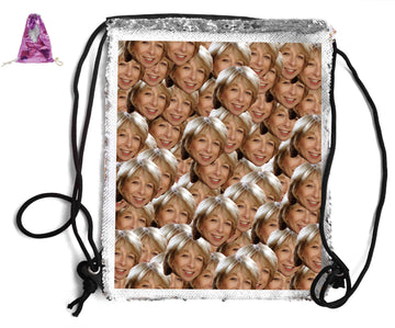 GAIL SEQUIN SPORTS BAG Sequin Bags BanterKing Pink 1 BAG