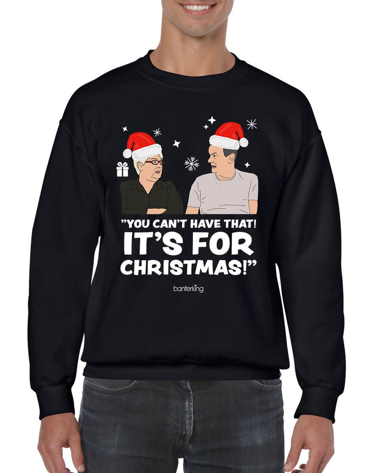 Got Box, Christmas Jumper (Unisex) Jumper BanterKing Small Black