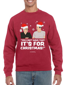 Got Box, Christmas Jumper (Unisex) Jumper BanterKing Small Red