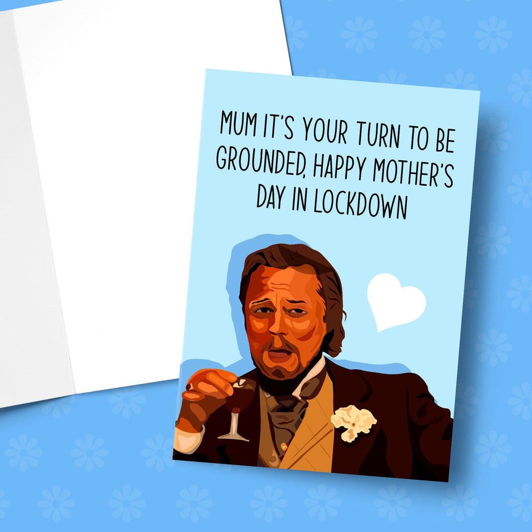 Grounded For Mother's Day Leo Greeting Card Stationery Prodigi