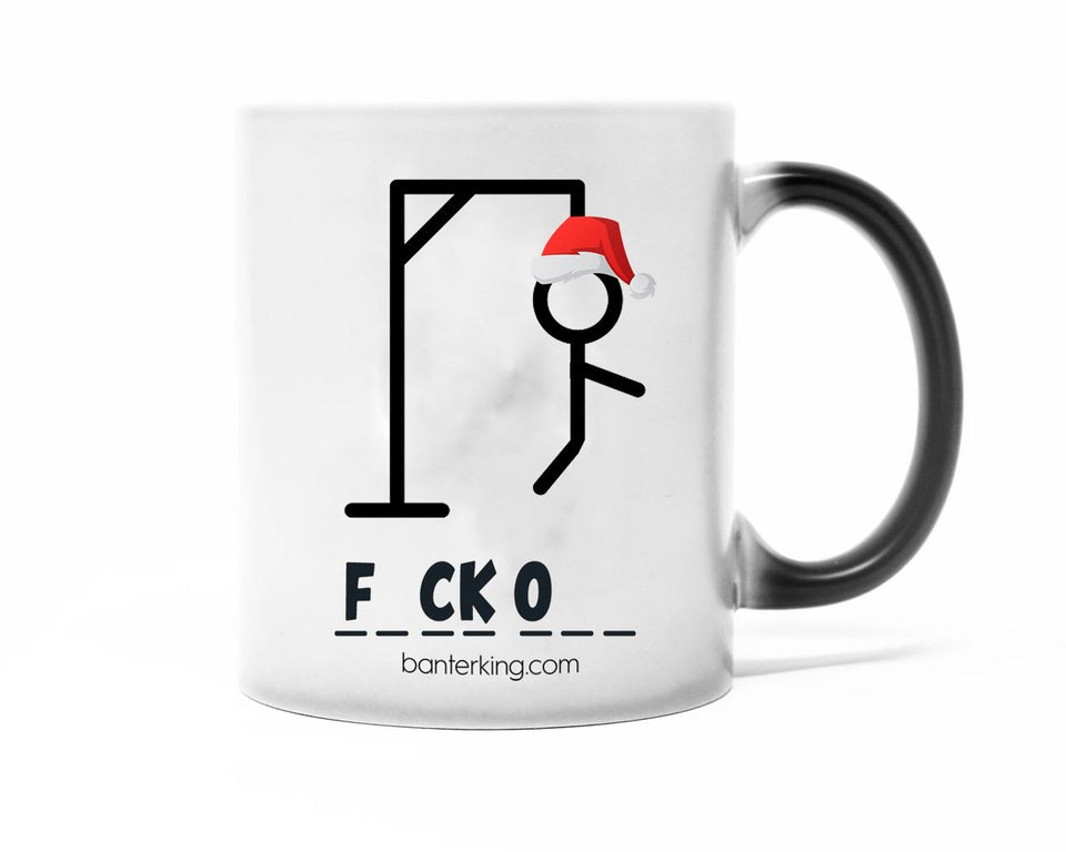 Hang Man, Heat Changing Mug Mug WeBrandIt