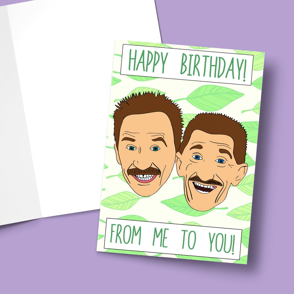 "Happy Birthday From Me To You! Stationery Prodigi 5""x7"" 1 Card"