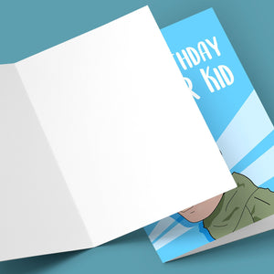 Happy Birthday R Kid Greeting Card Stationery Prodigi