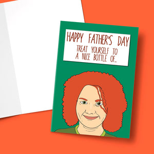 Happy Father's Day Nice Bottle Of Fizz Card Stationery Prodigi A5 1 Card