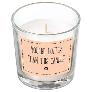 HOTTER THAN THIS CANDLE BanterKing White/Vanilla