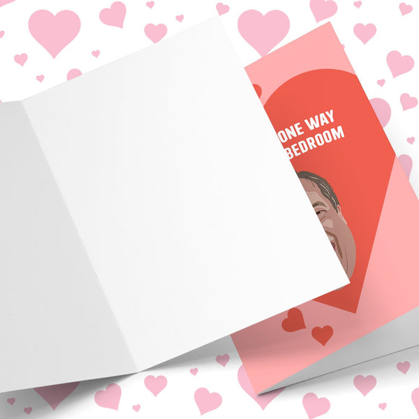How About A One Way Ticket Valentine's Greeting Card Stationery Prodigi