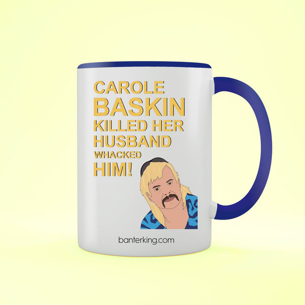 Husband Carole Baskin Tiger King Mug Mug BanterKing Black 1 MUG