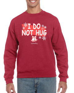 I Do Not Hug, Christmas Jumper Jumper BanterKing SMALL RED