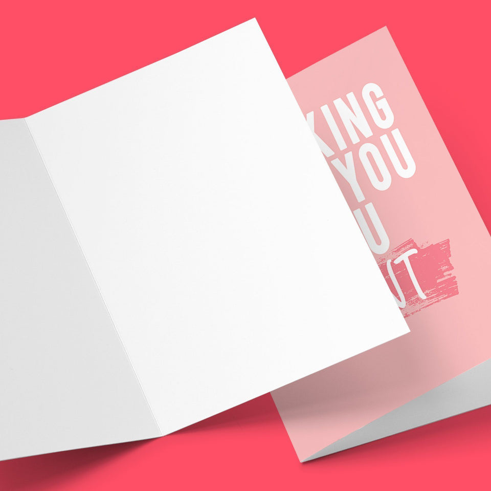 I Fucking Love You, You Cunt Greeting Card Stationery Prodigi