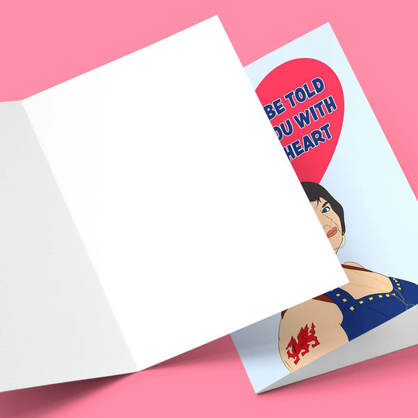 If Truths Be Told I Loves You Valentine's Greeting Card Stationery Prodigi