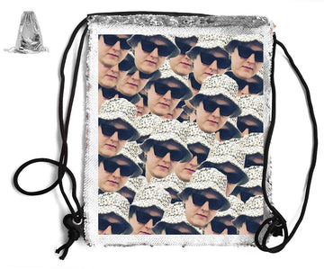 CAPALIDI SEQUIN SPORTS BAG Sequin Bags BanterKing Silver