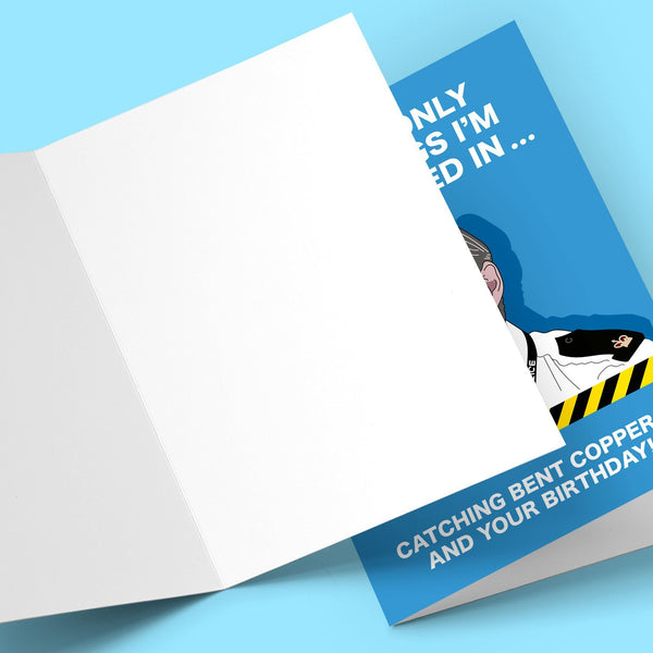 Line of Duty Greeting Card Stationery Prodigi