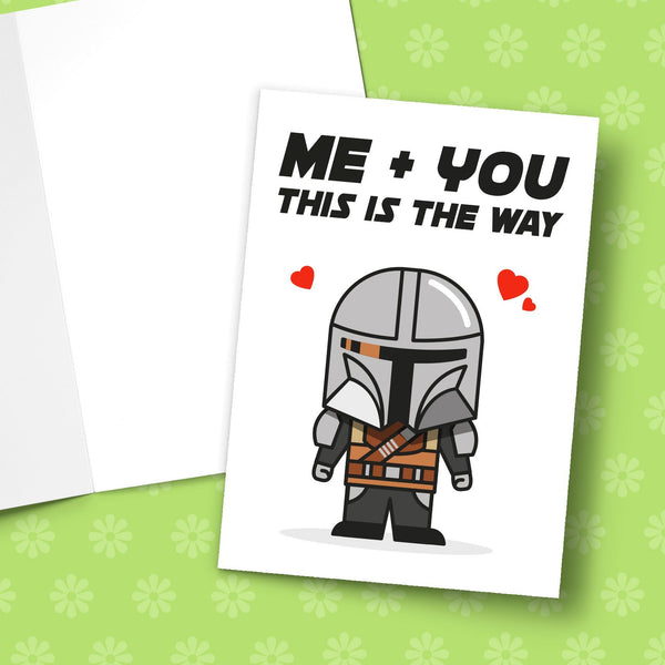 Me And You This Is The Way Greeting Card Stationery Prodigi