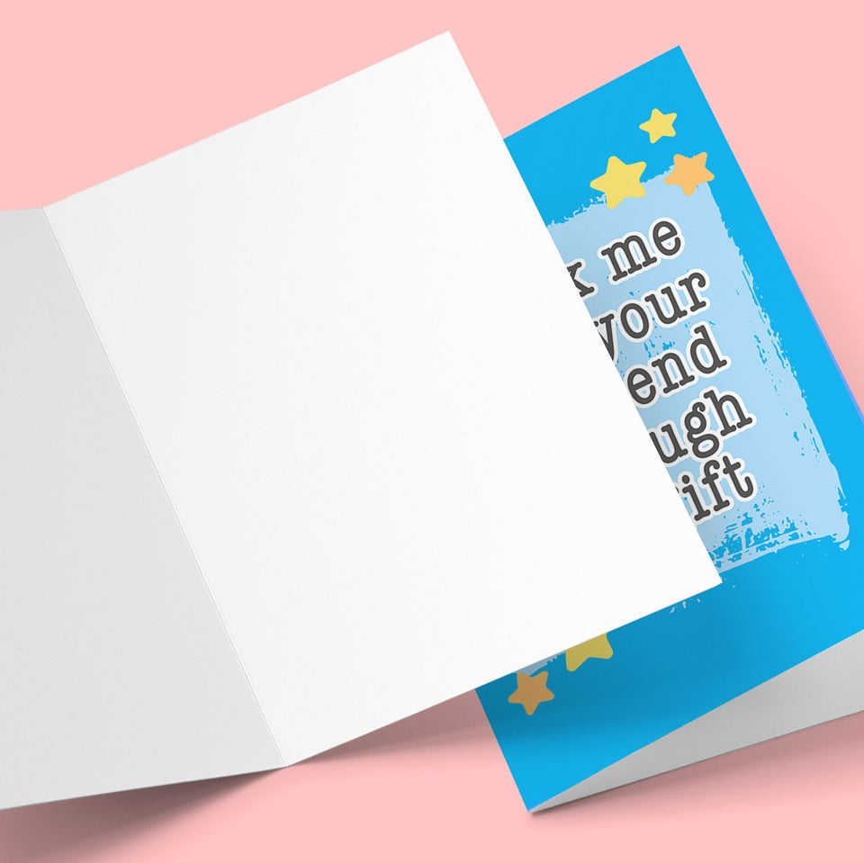 Me Being Your Boyfriend Greeting Card Stationery Prodigi