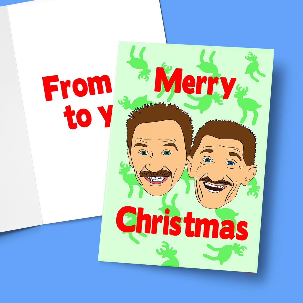 Merry Christmas From Me To You Greeting Card Stationery Prodigi