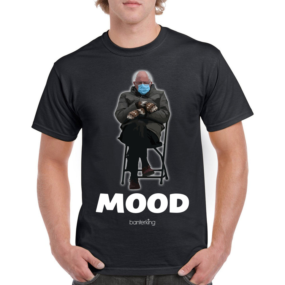 Mood Bernie T-Shirt T'shirt Inkthreadable Small Male