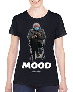 Mood Bernie T-Shirt T'shirt Inkthreadable Small Female