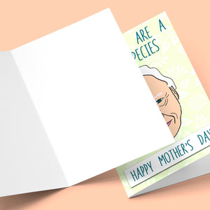 Mum You Are A Rare Species Mother's Day Card Stationery Prodigi