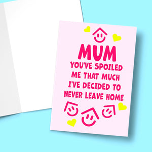 Never Leave Home Mother's Day Greeting Card Stationery Prodigi