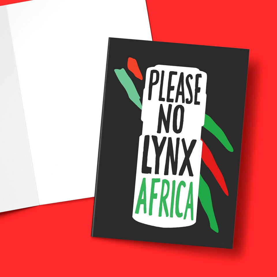 No Lynx Greeting Card Stationery Prodigi