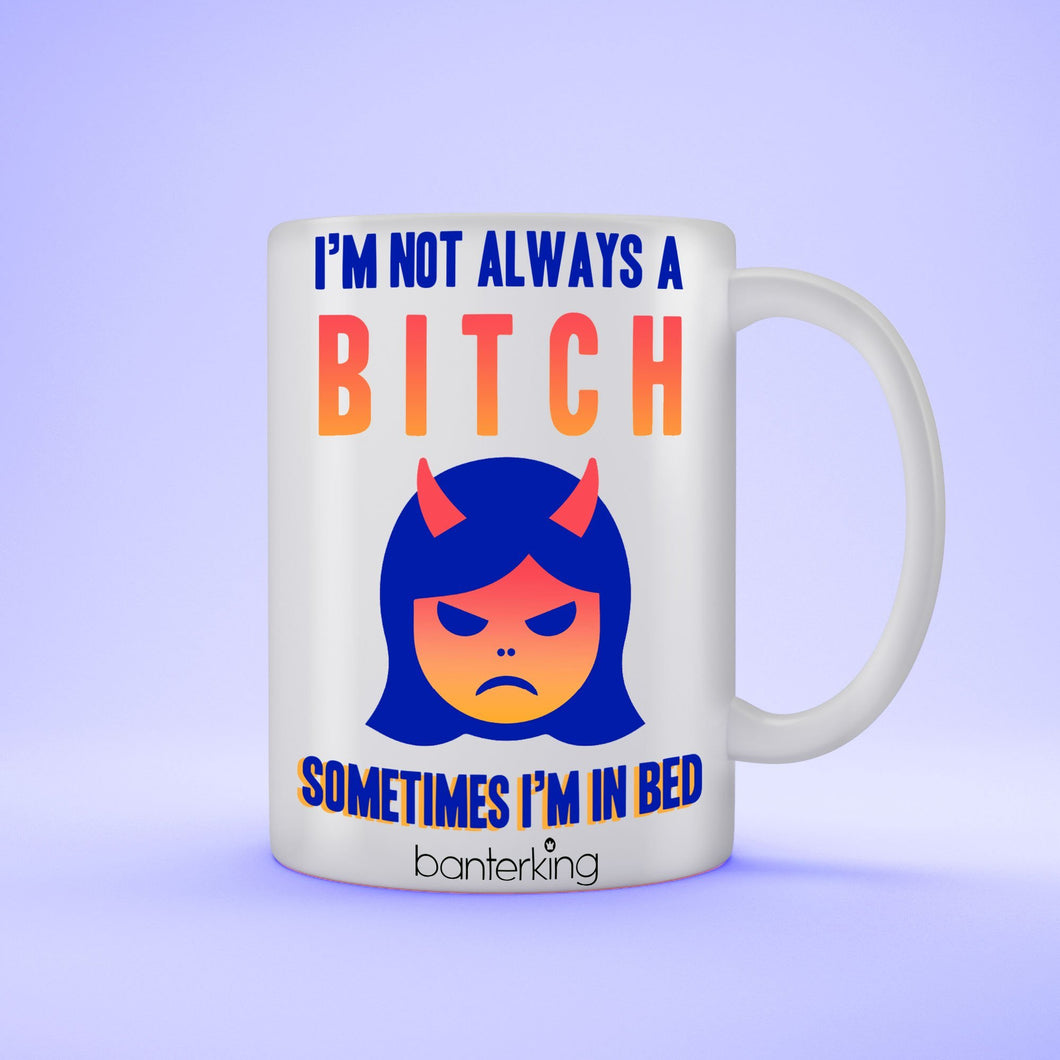 Bitch Sleeping 11oz LARGE MUG Mug BanterKing 1 MUG