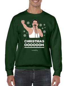 Ohhhhh, Christmas Jumper Jumper BanterKing SMALL GREEN