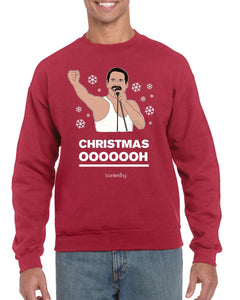 Ohhhhh, Christmas Jumper Jumper BanterKing SMALL RED