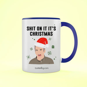 On It It's, Two Toned 11oz Mug Mug BanterKing Blue
