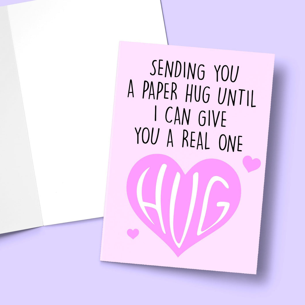 Paper Hug Greeting Card Stationery Prodigi