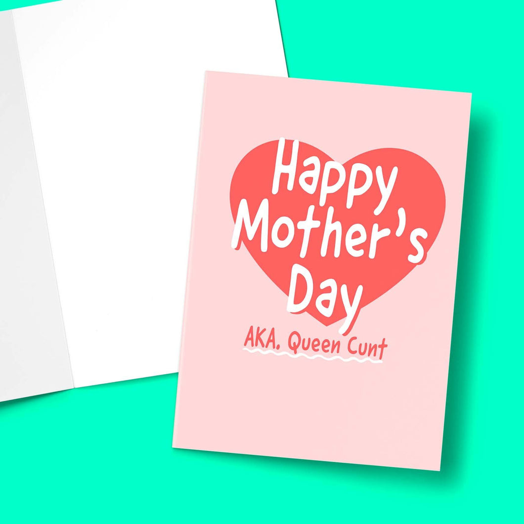 Queen C Mother's Day Greeting Card Stationery Prodigi