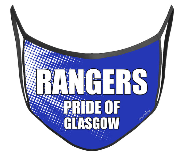 Rangers Face Mask (High Quality And Washable!) Face Mask BanterKing