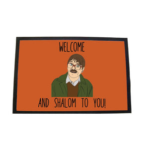 Shalom Large Door Mat Door Matt WeBrandIt Red