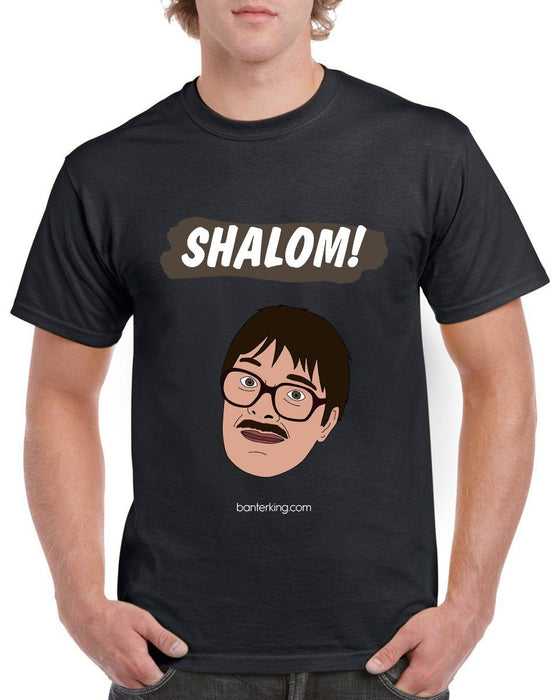 Shalom! T-Shirt T'shirt BanterKing Small Male
