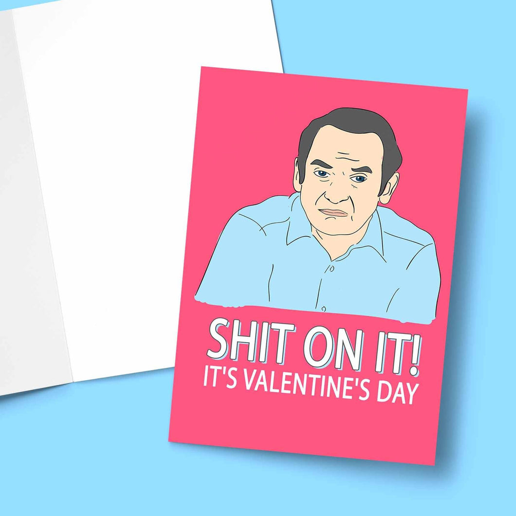Sh*t On It Valentine's Greeting Card Stationery Prodigi