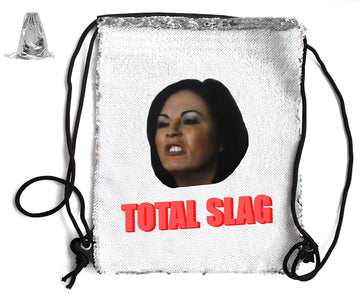 TOTAL SLAG SEQUIN SPORTS BAG