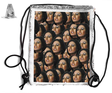 KAT SLATER SEQUIN SPORTS BAG