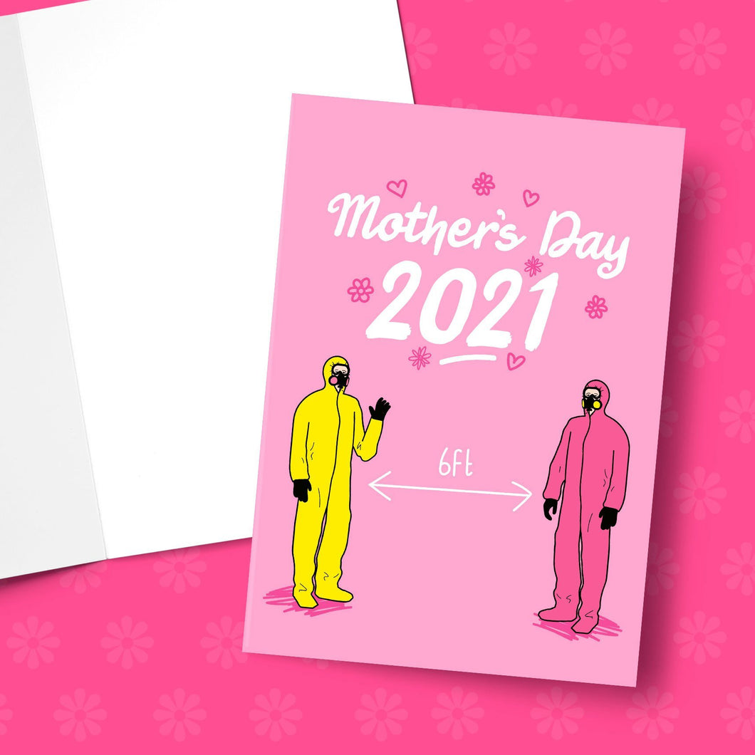 Social Distance Mother's Day Greeting Card Stationery Prodigi