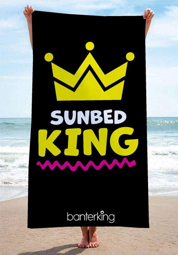 Sun Bed King Beach Towel towels BanterKing 1 TOWEL