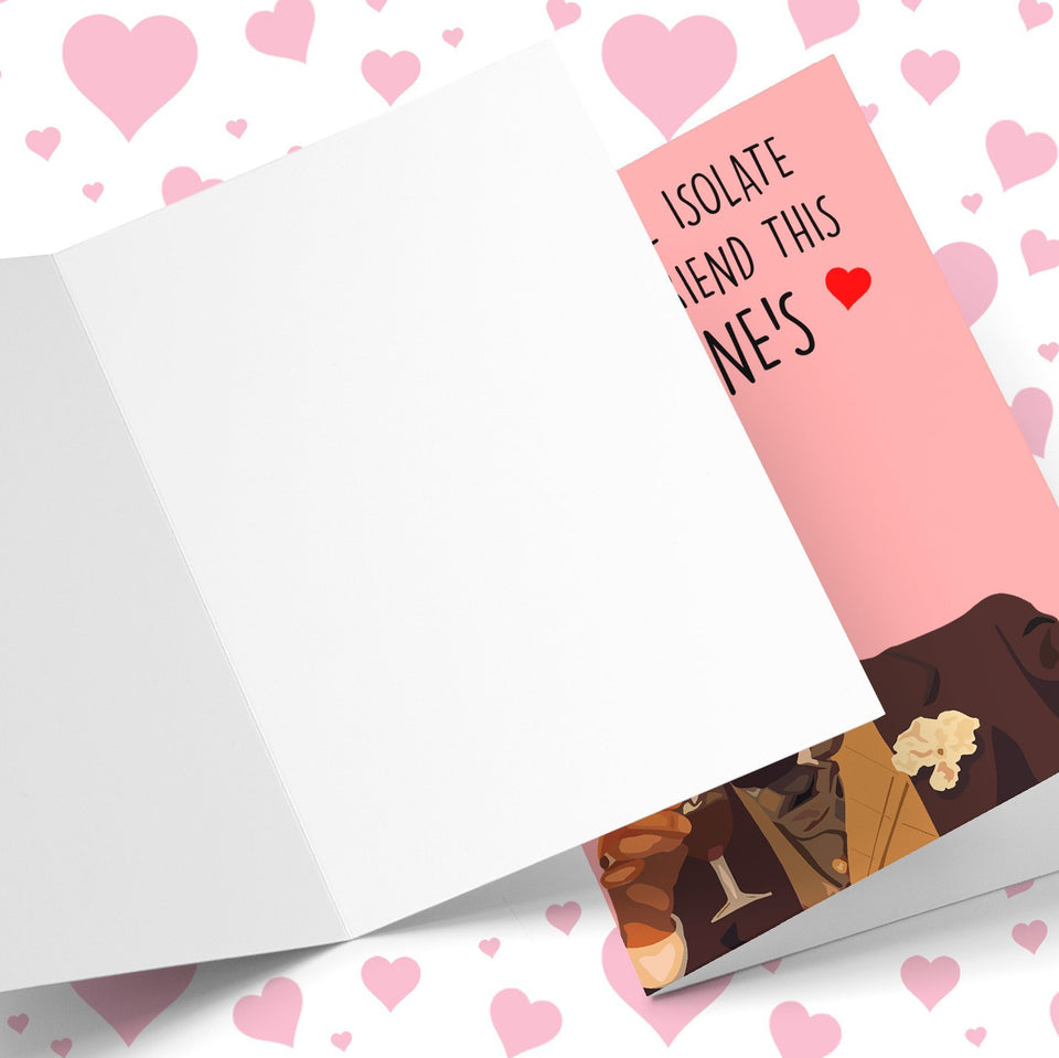 Sure Boris Isolate From Girlfriend Valentine's Greeting Card Stationery Prodigi