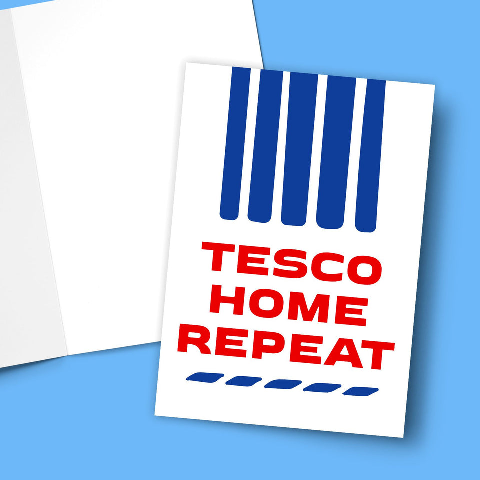 Tesco Home Repeat Greeting Card Stationery Prodigi