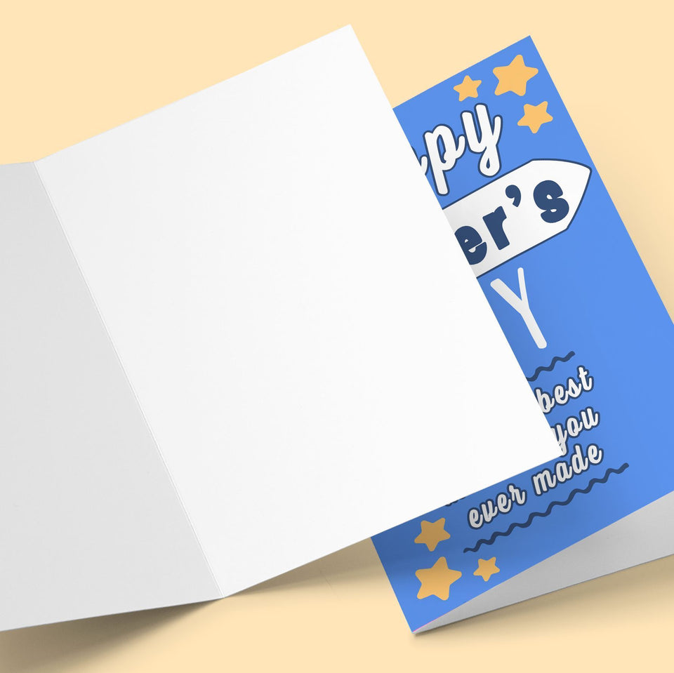 The Best Mistake You Ever Made Father's Day Greeting Card Stationery Prodigi