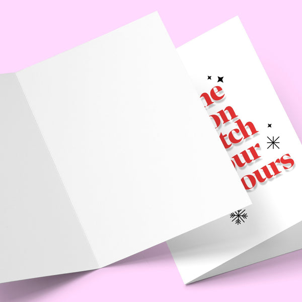 Tis the season to snitch on your neighbours Greeting Card Stationery Prodigi