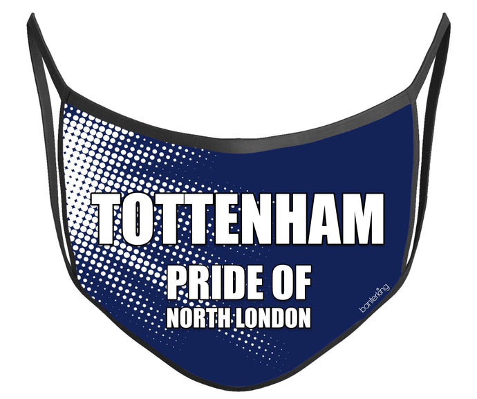 Tottenham Face Mask (High Quality And Washable!) Face Mask BanterKing